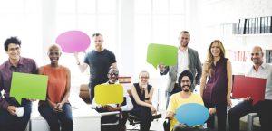 Dialog, Team, Teamarbeit, Fragen und Antworten