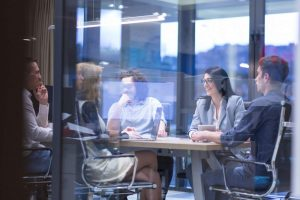 Digitalisierung, Digitalisierungsgrad, Büro, Meeting, Managementmeeting