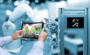 Automation Machine, Maschinenbau, Touchscreen, Engineering, digitaler Zwilling, Produktdatenmanagement, Product Lifecycle Management, PDM, PLM, digitale Zwillinge
