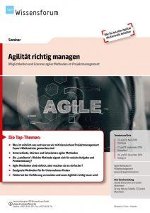 Seminar, Agilität, Projektmanagement, Projektmanagement, TCI GmbH, TCI, VDI, VDI Wissensforum