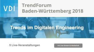 VDI Trendforum, Engineering, Trends