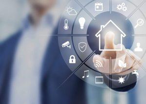 Smart Home-Systeme, Licht, Schutz, Smart Metering, Belüftungssystem, Fensterverriegelung, Türenverriegelung, Musik, Film, Audiovisuell, Internet, Vernetzung, Künstliche Intelligenz, AI, Energieeinsparung, Energieeffizieung