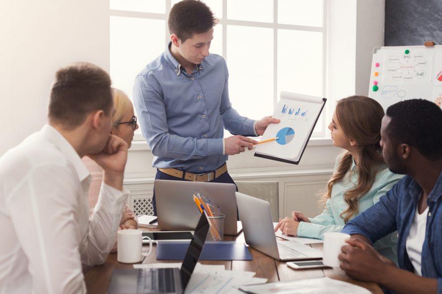 Präsentation, Marktanteile, USP, Positionierung