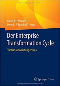 Buchcover, Buch, Enterprise Transformation Cycle, ETC, Sammelband, Pfannstiel, Steinhoff