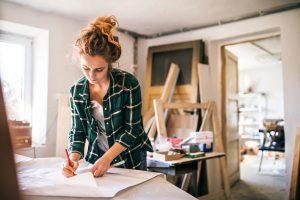 Digitalisierung in KMU, KMU, Frau mit Unternehmen
