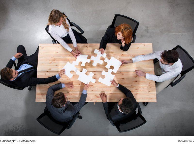 Puzzle, Kooperation, Fusion, M&A