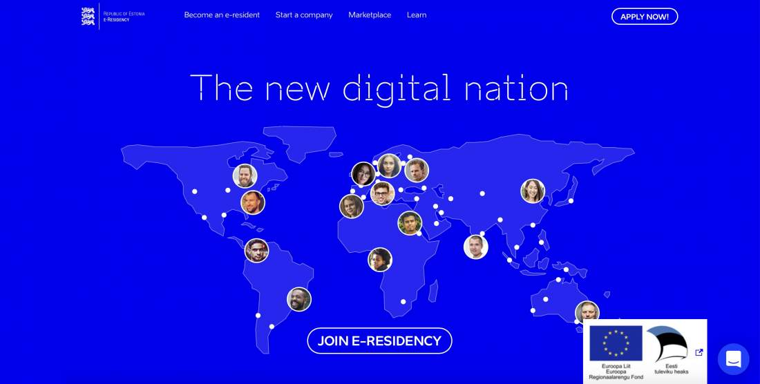 the new digital nation, digitale Gesellschaft, join e-residency, erste digitale Gesellschaft der Welt, Screenshot, Digitalisierung, Digitaler Wandel, digitaler Staat, Latitude59, e-Residency, digitale Bildung, E-Estonia