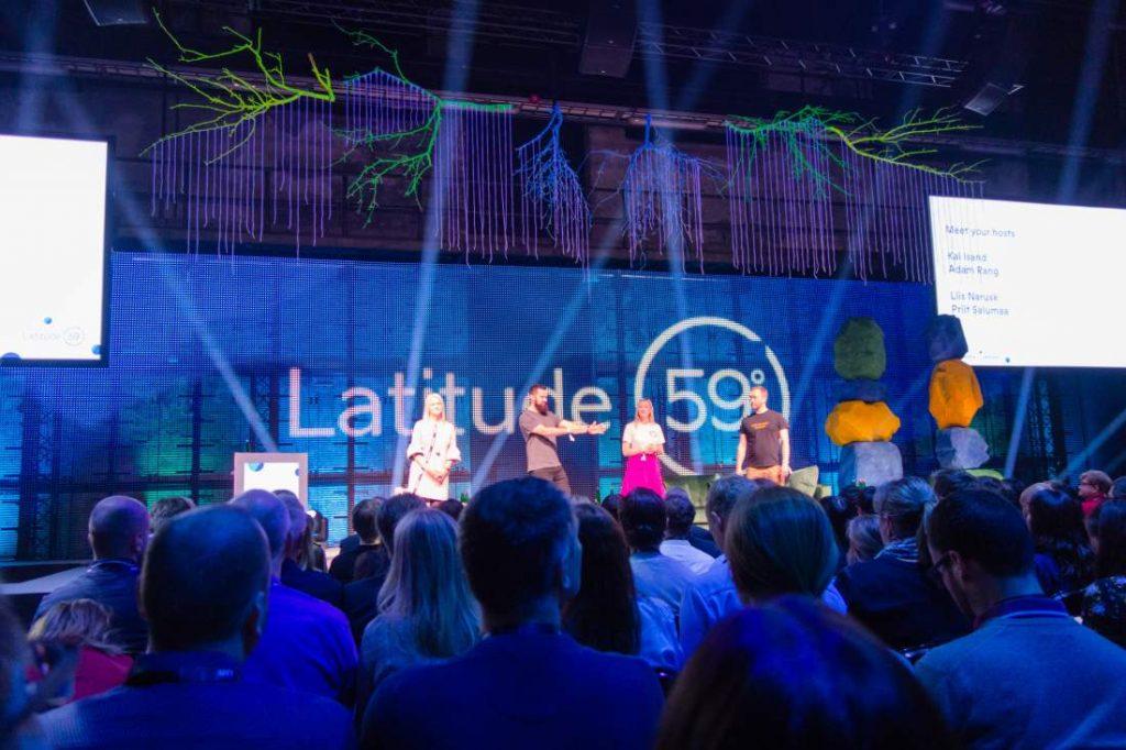 Eröffnung Latitude 59, Latitude59, Tallinn, Estland, Bühne, feierliche Eröffnung, internationale Start-up- und Technologieevent, erste digitale Gesellschaft der Welt, Digitalisierung, Digitaler Wandel, digitaler Staat, Latitude59, e-Residency, digitale Bildung, E-Estonia