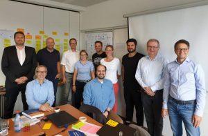 Die Teilnehmenden und Trainer des ersten öffentlichen Lean Portfolio Management Trainings in Europa