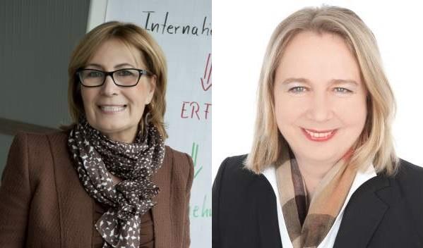 TCI-Partnerin Barbara Wietasch, Expertin für Mitarbeiterführung und Shared LeaderShift, und Eva-Maria Danzer, pezialistin für Menschen und Organisationen im Wandel