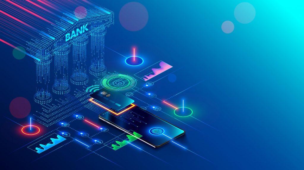 Digitalisierung von Banken, Transformation im Kreditwesen, Finanzsektor, digitales Banking, IT Transformation