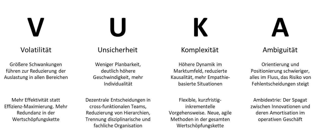 VUKA-WeltGrafische Ausfuehrung des Akronyms
